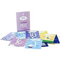Mes Premiers mois - 15 cartes souvenirs / cartes étapes pour la première année de bébé