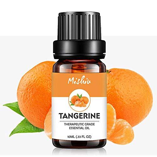 FOONEE Ätherische Öle, 10 ml, therapeutische Aromatherapie, ätherische Öle, Hautpflege Verbesserung des Schlafes, verlangsamt die Alterung mit leistungsstarken Antioxidantien Tangerine -