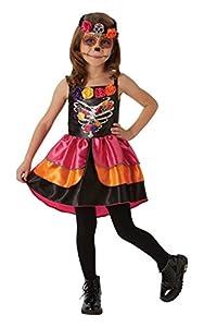 Rubies - Disfraz oficial de calavera de azúcar del Día de los Muertos para Halloween