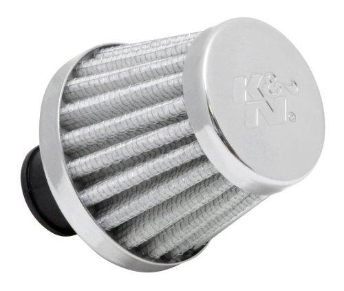 K & N 62-1600WT Vent Air Filter/Entlüfter 3/8-1/2ID flg X 5,1cm OD B x 1-3/4H x 3,8cm TP CR (Universal Air Filter) -