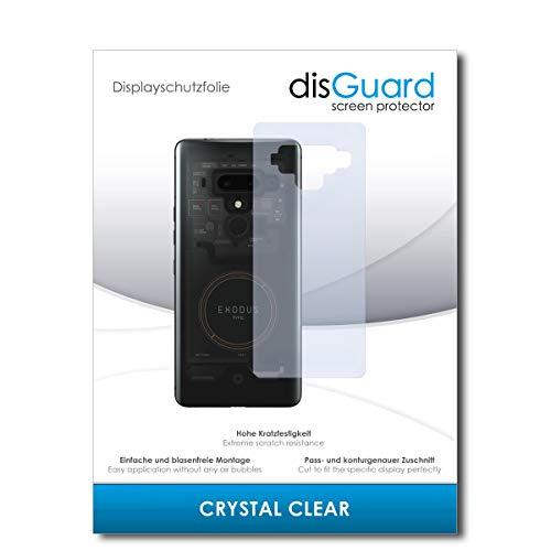 disGuard® Displayschutzfolie [Crystal Clear] kompatibel mit HTC Exodus 1 [2 Stück] Kristallklar, Transparent, Unsichtbar, Extrem Kratzfest, Anti-Fingerabdruck - Panzerglas Folie, Schutzfolie