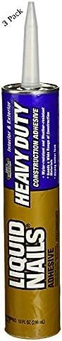 Liquid Nails LN903 10-Ounce Heavy-Duty Liquid Nails