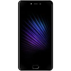 Leagoo T5 4G cellulare Phablette 5.5 Pouces smartphone FHD Ecran Android 7.0 MTK6750T Octa Core 1.5GHz 4GB RAM 64GB ROM 13.0MP + 5.0MP Doppio camerista posteriore Scanner GPS (nero)