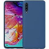 Samsung A70 Silicone Case Back Cover - Blue