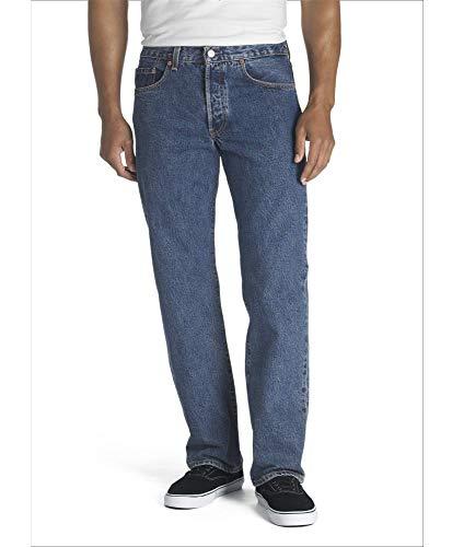 Levi's 501 Original Fit Men's Jeans, Blue (Dark stonewash), 31W x 34L