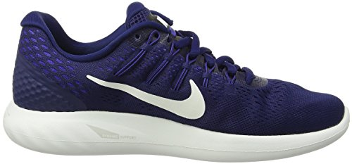 Nike Wmns Lunarglide 8, Scarpe da Corsa Donna Blu (Binary Blue/Summit White/Black/Paramount Blue)