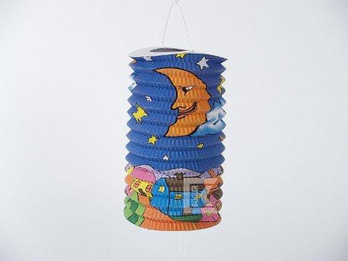 dt mit Half Moon Flammschutzmittel Laterne in Tasche, Papier, Karton, mehrfarbig, 30x 15x 25cm (Maske Party-stadt)