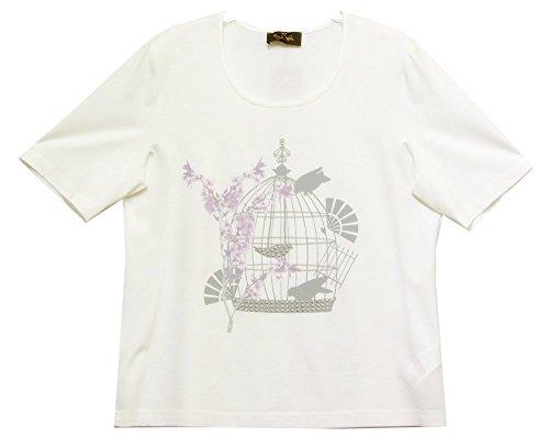 Eugen Klein - T-shirt - Femme Ecru Ecru Crème