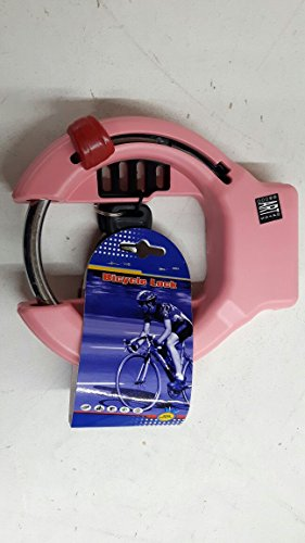 Fahrradschloss Rahmenschloss in Pink/Rosa
