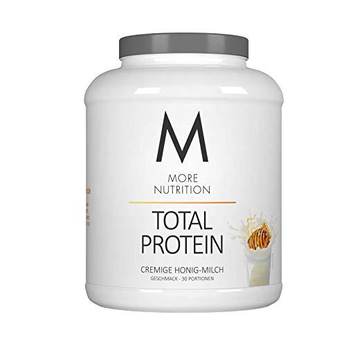More Nutrition Total Protein - Whey & Casein Zur Optimalen Proteinsynthese 1 x 1500 g (Honig Milch)