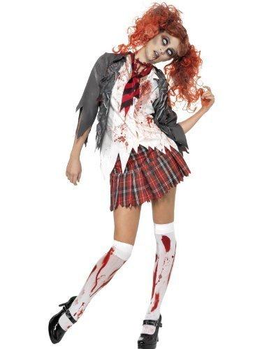 High School Horror Girl Zombie Dress Suit Costume Adult Medium by (Kostüm Girl High School Zombie)