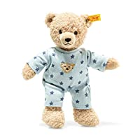 Steiff 241642 Teddy Bear boy Baby with Pyjama, Beige/Blue, 25