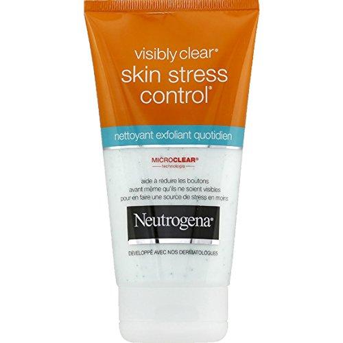 Neutrogena - Skin stress control, nettoyant exfoliant quotidien - Le tube de 150ml - (pour la quantité plus que 1 nous vous remboursons le port supplémentaire)
