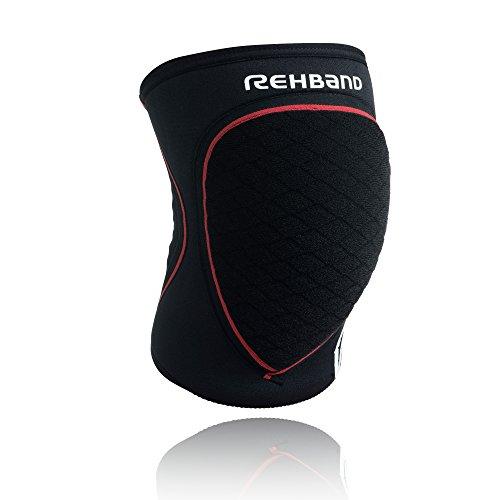 Rehband Schützer RX Speed Protection Line Schwarz/Rot, L
