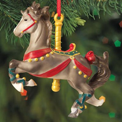 Breyer Horses 2012 Holiday Prancer Carousel Horse Ornament Melody by Breyer -