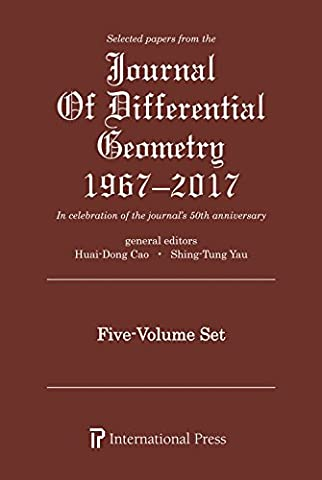 Selected Papers from the Journal of Differential Geometry 1967-2017, 5 Volume Set