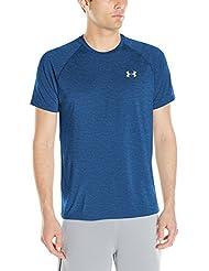 Under Armour Ua Tech Ss Tee Herren Fitness - T-shirts & Tanks, Blau (Squadron), Gr. Large