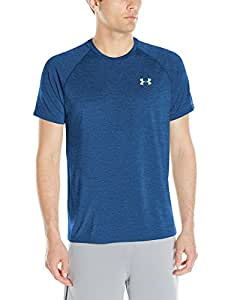 Under Armour Ua Tech Ss Tee Herren Fitness - T-shirts & Tanks, Blau (Squadron), Gr. Small