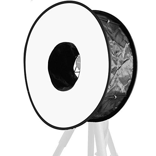 Life of Photo Round Softbox HX46 45cm Blitz Diffusor Ringlicht Lichtformer für Aufsteckblitz
