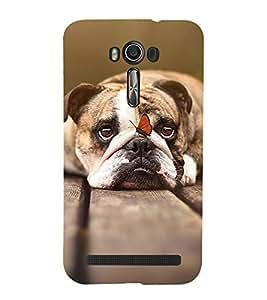 PrintVisa Designer Back Case Cover for Asus Zenfone 2 Laser ZE550KL (5.5 inches) (Dog A Man's Best Friend)