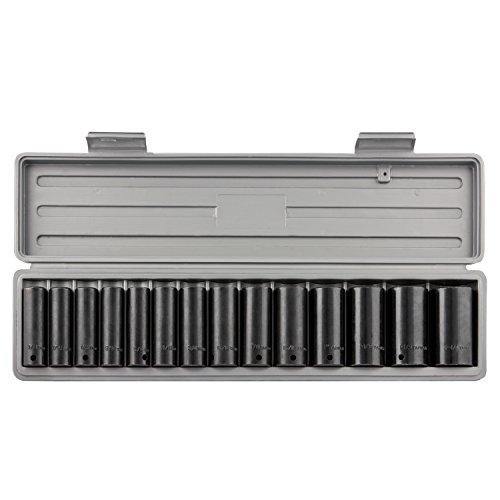 Neiko® 024441/2SAE Drive Deep Impact Socket Set, CR-V, | 14-teiliges Set -