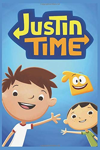 Justin Time: Writing Journal - Lined Notebook - Perfect Gift For Kids - Composition Book 6x9 - 100 Pages