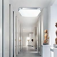 PJSKJZQ Moderno LED incasso Galvanotecnica Monte Luce di alluminio acrilico