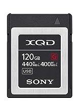 Sony Memoria XQD 120 GB Serie G, Lettura 440 MB/s, Scrittura 400 MB/s