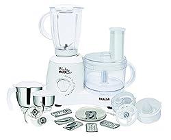 Inalsa Wonder Maxie Plus V2 700-Watt Food Processor (White)
