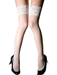 Zhhlaixing 1 Pair Women Lace Fun Stockings Thigh-Highs Stockings Set EF002