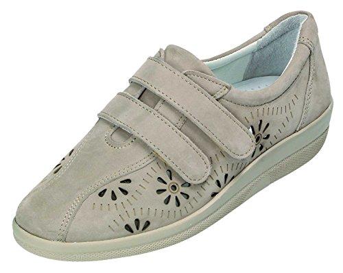 DocComfort , Chaussures de ville à lacets pour femme beige taupe Taupe