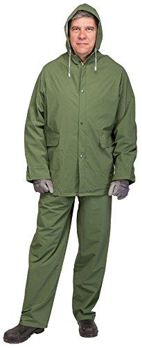 DRAPER 15043leicht Regen Anzug, grün, Set von 2Stück (Anzug Leichte)