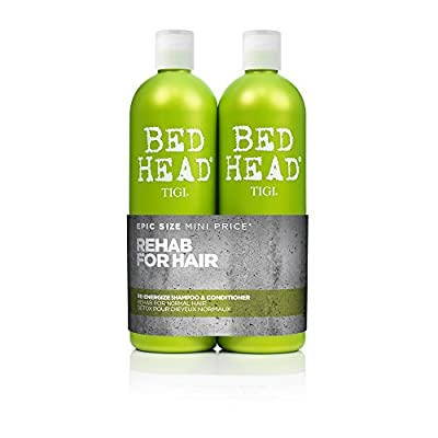 TIGI - BedHead Urban anti+dotes Level 1 - Re-Energize Shampoo & Conditioner Tween Duo 2x 750ml - low-cost UK light store.