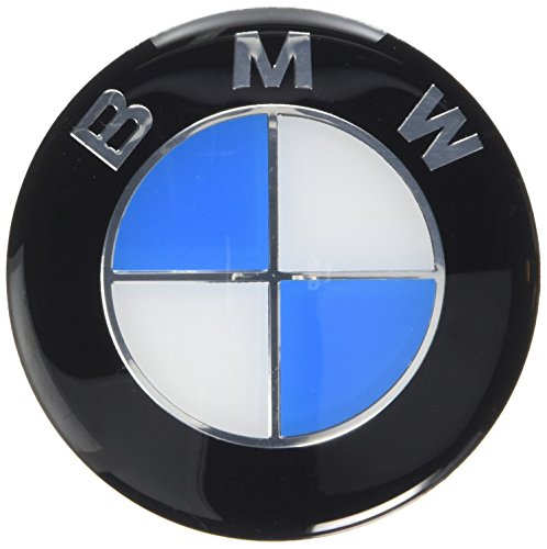 Repuesto BMW E46 E60 E61 E81, E90, E91, E92, X5 M3 Bonnet Boot Badge Emblem 82 mm