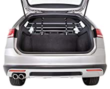 Griglia per auto Trixie 13171, larghezza: 96–163 cm altezza: 34–48 cm, argento / nero