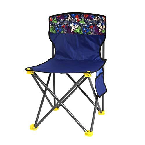 HUXIUPING Pliant Tabouret Pliant Chaise extérieure Famille Voyage Pique-Nique Camping Alpinisme Peinture Jardin