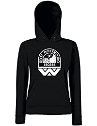 T-Shirtshock - Sudadera hoodie para las mujeras TGAM0082 USCSS Nostromo Crew Logo