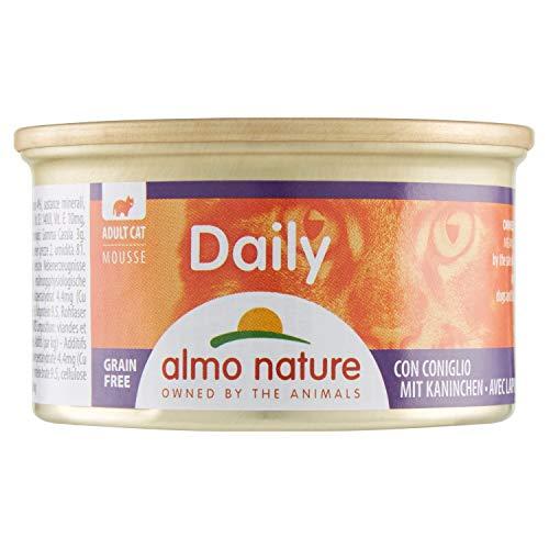 Almo - Daily Menu Da 85 Gr. Mousse Con Coniglio  - Gatto 157