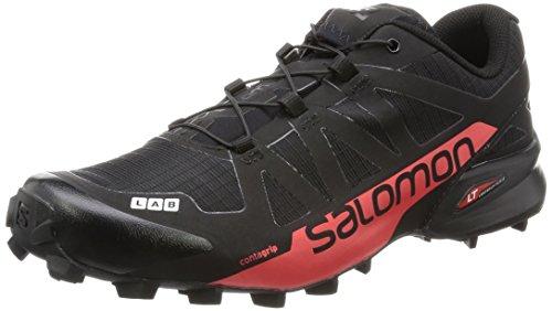 Salomon L39122100, Scarpe da Escursionismo Unisex – Adulto, Nero Nero