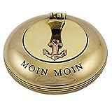 Klappaschenbecher aus Messing - Moin Moin -