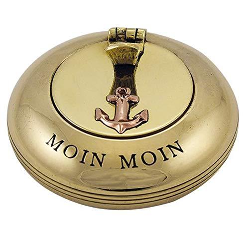 Klappaschenbecher aus Messing - Moin Moin