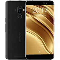 "Ulefone S8 Pro Smartphone 4G Android 7.0 (MTK6737 Quad Core 1.3GHz, 5.3"" IPS HD Schermo, 2GB RAM 16GB ROM, 5MP+5MP+13MP Camera, Fingerprint ID, Dual SIM, 3000mAh Batteria) Nero"