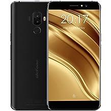 "Ulefone S8 Pro - 4G Smartphone Libre (Android 7.0, 5.3"" HD Pantalla, MT6737 Quad Core 1.3GHz, 2Gb Ram 16GB ROM, Dual Sim, Dual Cámara Trasera 13MP + 5MP), Negro"