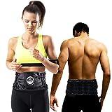 AFDEAL Professionelle Rückenbandage Rückengurt, Verstellbare Zuggurte Rückenstützgürtel, Dekompressionstherapie - Lindert Schmerzen und Beugt Verletzungen Vor, für Männer und Frauen