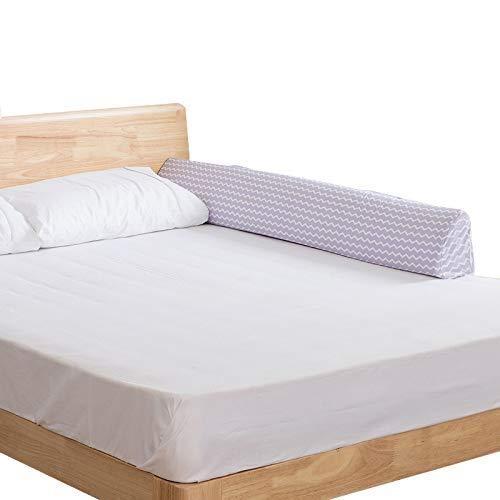YaZhou Bettgitter Baby-Bett-Zaun-Sicherheitstor Baby-Sperre für Betten Krippe-Schienen-Sicherheit, die Kindergeländer Baby-Laufgitter-Bettgitter einzäunt (Size : 150cm)