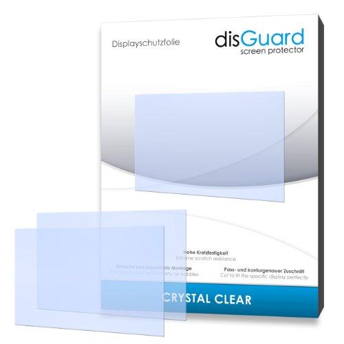 disGuard RY070108 kristallklar hartbeschichtet Displayschutzfolie für Nintendo 3DS/3-DS (2-er Pack)