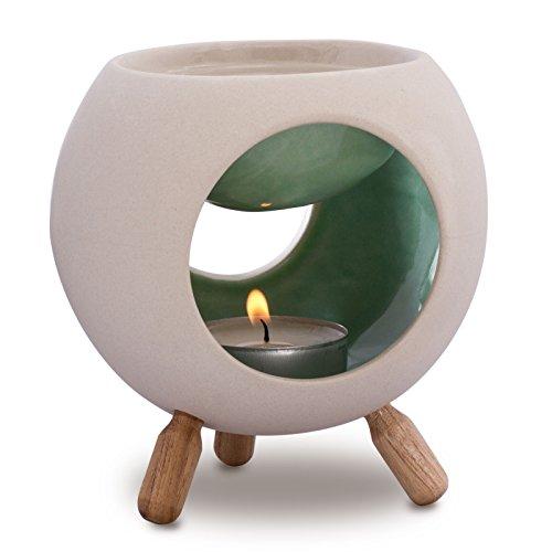 Sabai Scent Keramik Duftlampe rund (Duftlicht) - mint