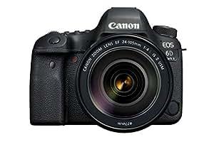 Canon EOS 6D Mark II 26.2MP Digital SLR Camera with EF24-105 mm f/4L is II USM Lens
