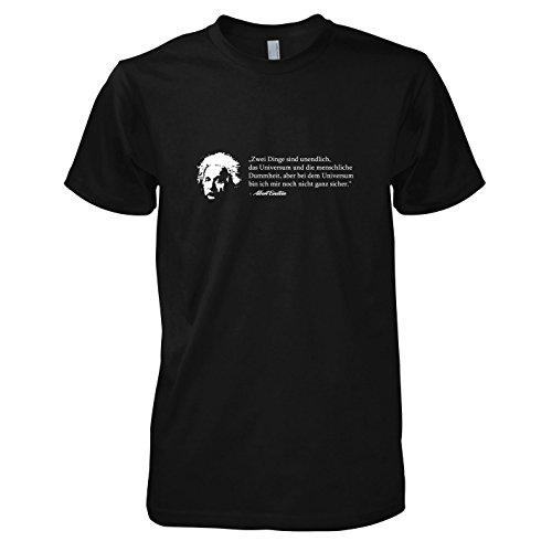 Und Student Kostüm Professor (TEXLAB - Einstein - Herren T-Shirt, Größe M,)