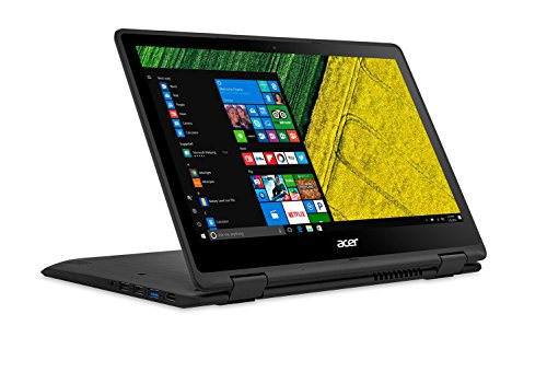 "Preisvergleich Produktbild PC Portable - Acer Spin 5 SP513-51-5954 - Intel Core i5-7200U 4 Go SSD 256 Go 13.3"" LED Tactile Full HD Wi-Fi AC / Bluetooth Webcam Windows 10 Famille 64 bits"